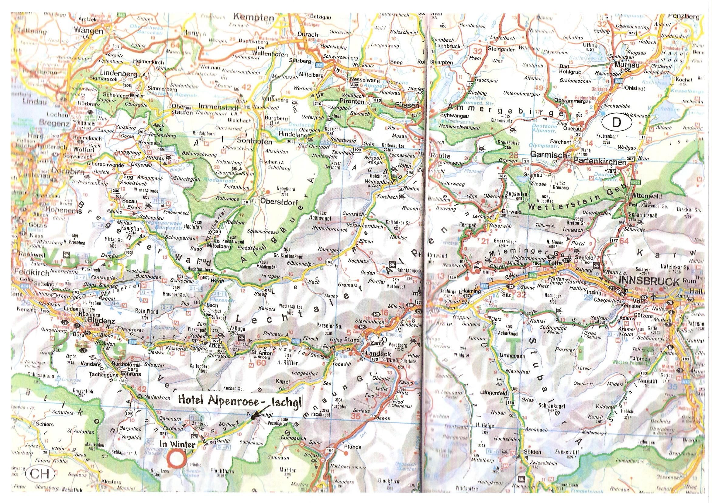 Map how to reach Ischgl: Lindau, Kempten, Landeck, Garmisch ... Garmisch Partenkirchen Map on babenhausen map, cortina d'ampezzo map, magdeburg map, berchtesgaden map, landstuhl map, germany map, weimar map, freiburg map, albertville map, rothenburg ob der tauber map, karlsruhe map, europe map, bonn map, garmisch trail map, saxony map, koblenz map, dortmund map, oberammergau map, oslo map, duisburg map,
