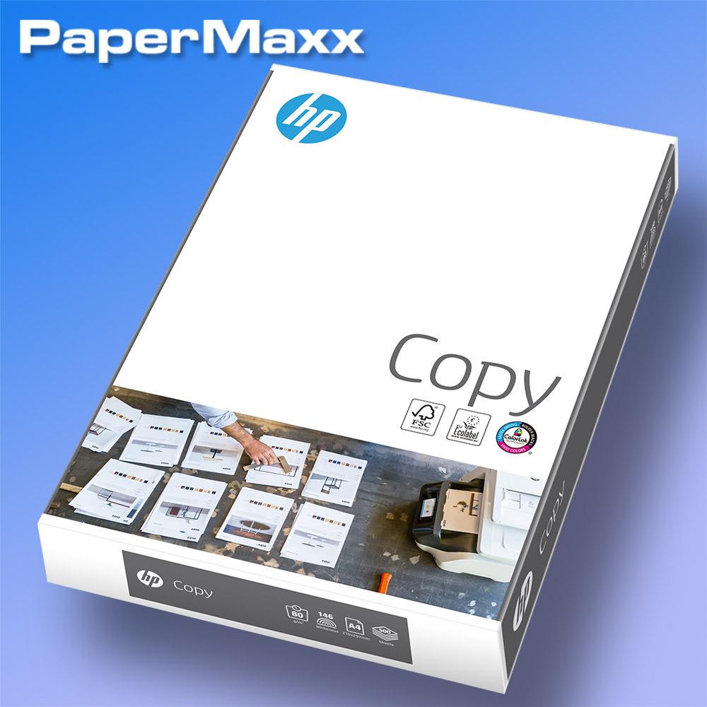 Kopierpapier weiß A4 80g//m² ColorLok Papier Drucker 2500 Blatt HP Copy CHP910