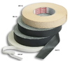 adhesive tape, black, 50m, 25mm wide