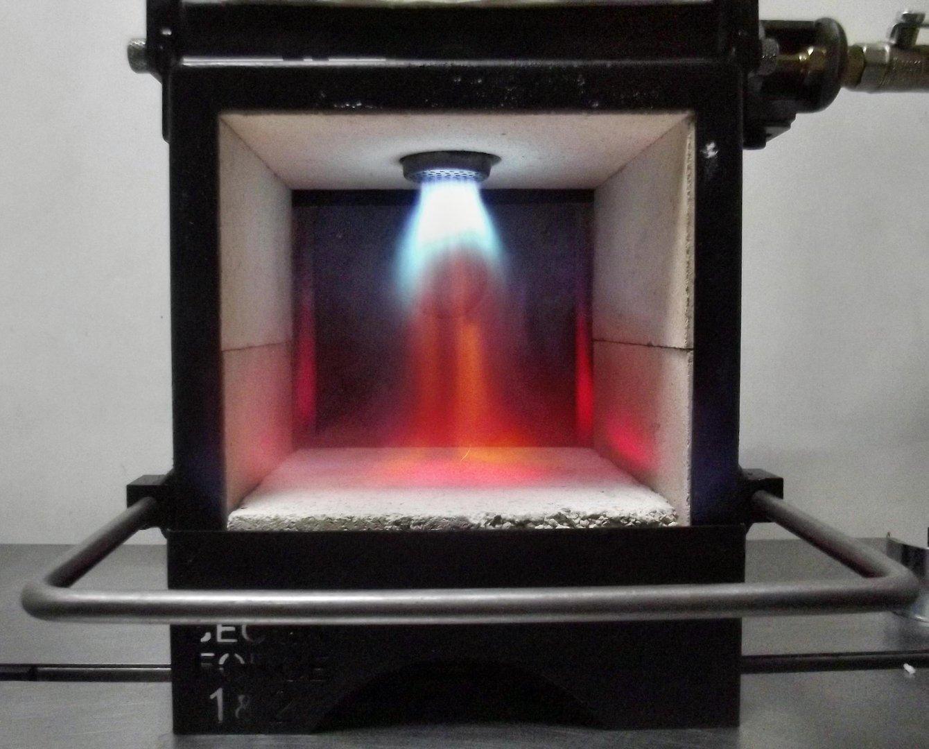 Knife Forging Ovens : Becma blacksmith`s gas forge for knifemaking gfr neo ebay