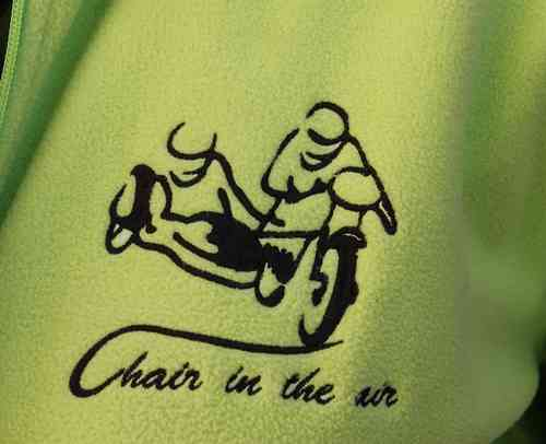 "Fleece-Jacket ""Chair in the air"""
