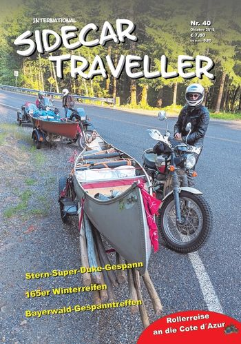 "Single Issue ""Sidecar Traveller"" Nr. 40"