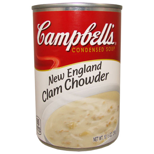 Campbell's - Clam Chowder Condensed Soup, 298 g