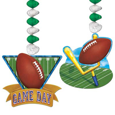 Hängedeko - American Football Game Day, 2 Designs