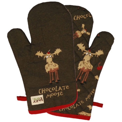 Ofenhandschuh - Chocolate Moose, One Size, 1 St.