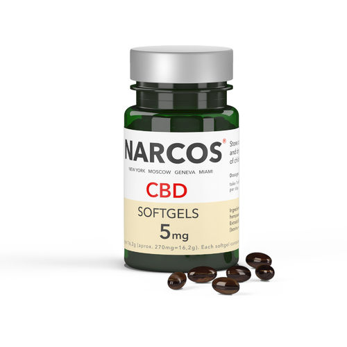 NARCOS® CBD Soft 5mg by Dogmoments Mensch / Tier