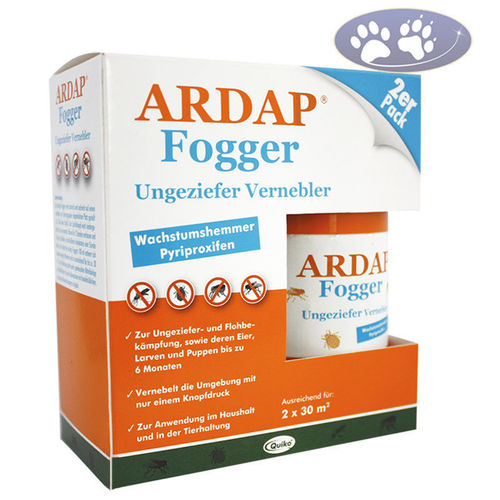 Ungeziefer Vernebler Fogger Ardap by DogMoments 2x 100 ml
