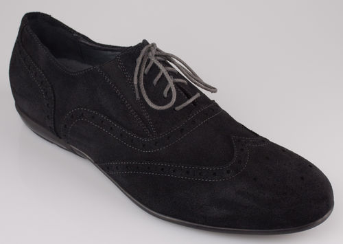 Batz MAX laced shoes velour black