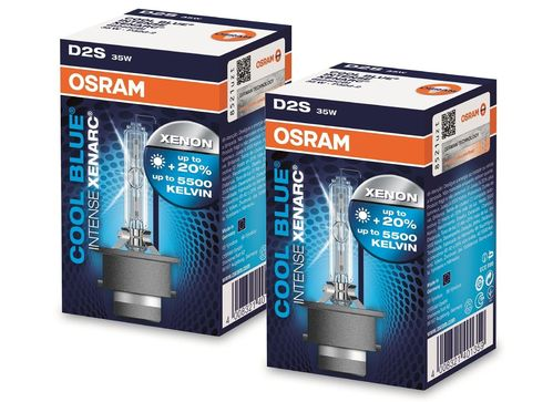Osram Xenarc Cool Blue Intense D2S 35W 85V Xenon für MINI R50/R53