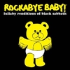 Rockabye Baby - Tribute to Black Sabbath CD