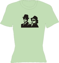 T-Shirt Lady Crew-Neck  Blues Brothers