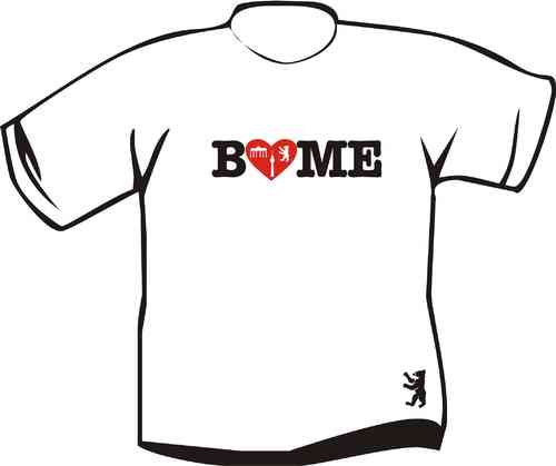 Kinder T Shirt  Berlin Love me