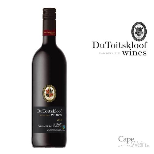 DU TOITSKLOOF Cabernet Sauvignon-Shiraz 2018 *Fair Trade*