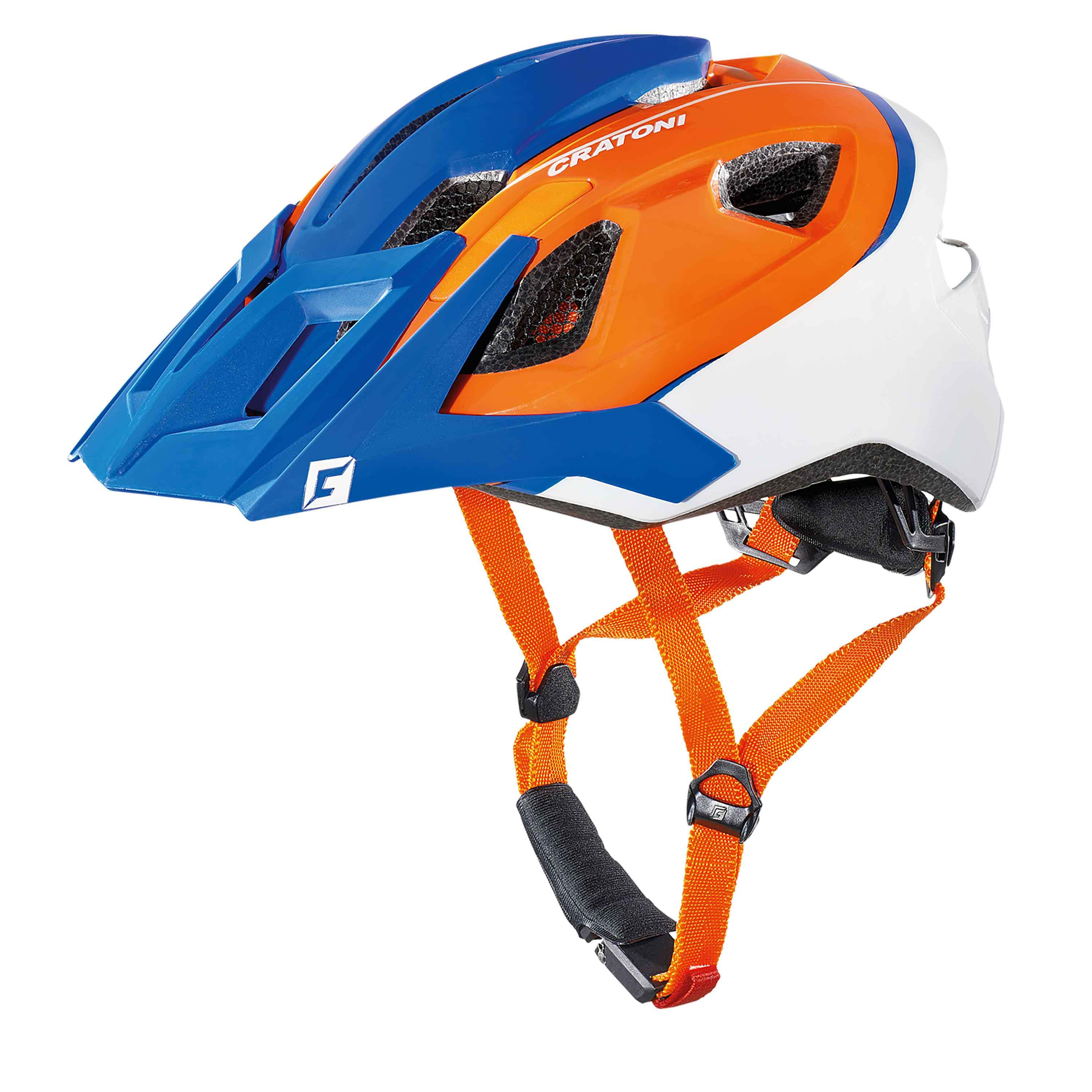 cratoni allride mountainbike helm fahrradhelm all mountain in vielen farben ebay. Black Bedroom Furniture Sets. Home Design Ideas