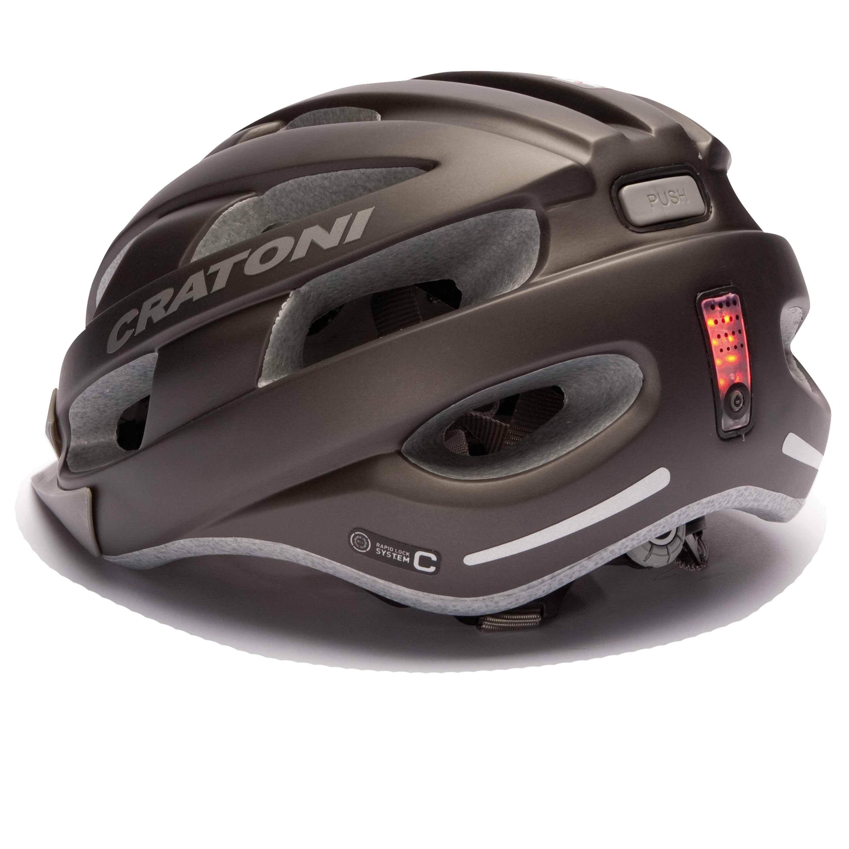 e bike helm fahrradhelm urban helm cratoni velon metallic. Black Bedroom Furniture Sets. Home Design Ideas