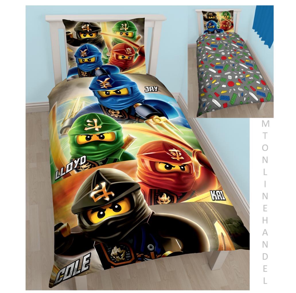 Lego Ninjago Bettwäsche Motiv Bettwäsche Mtonlinehandel